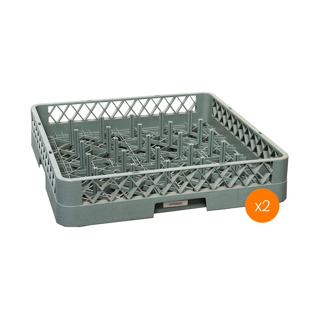 Lavadora de Vajillas Cesto Portaplato 25 Espinas - Pack x2