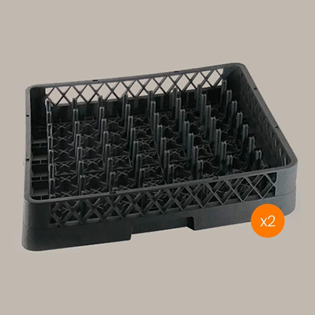 Lavadora de Vajillas Cesto Portaplato 64 Espinas - Pack x2