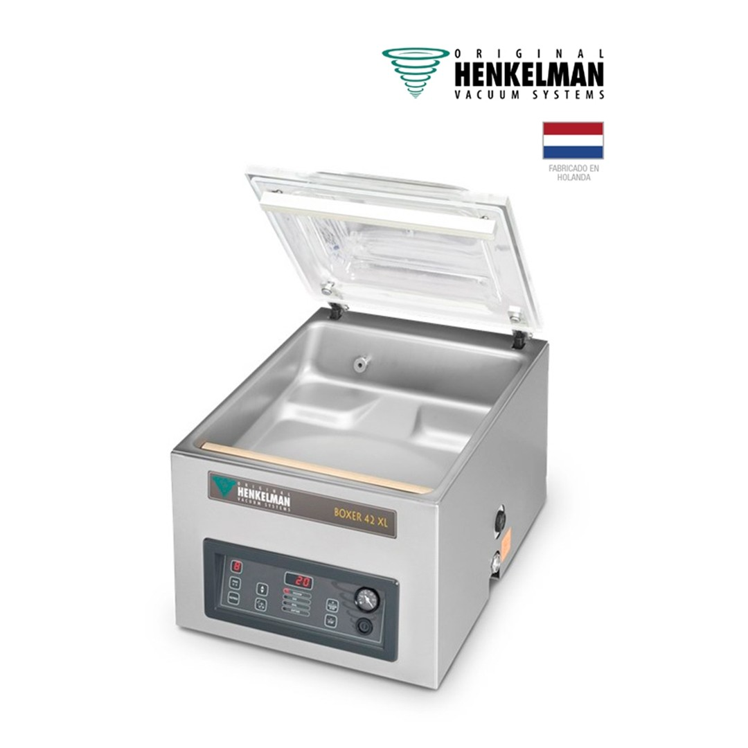 Envasadora al Vacío Henkelman Boxer 42 XL (2x420 - De mesa - Con inyección de gas)