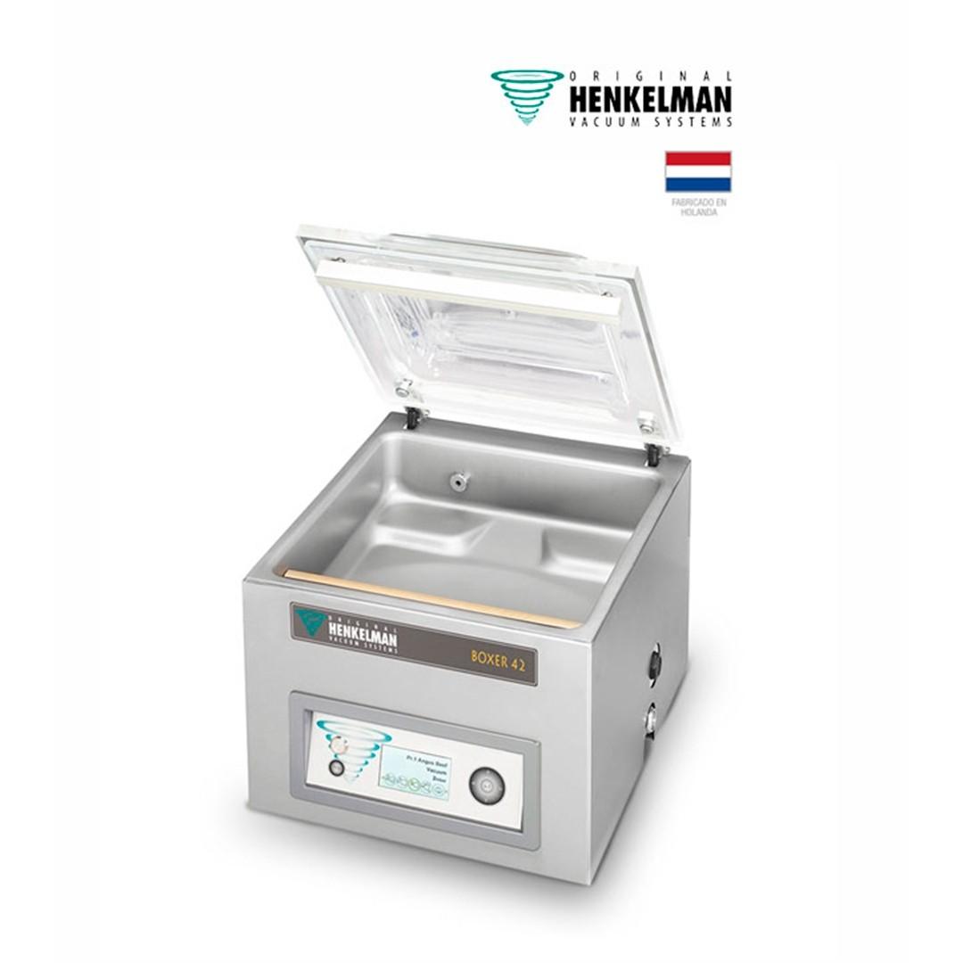 Envasadora al Vacío Henkelman Boxer 42 (2x420 - De mesa - Con inyección de gas)
