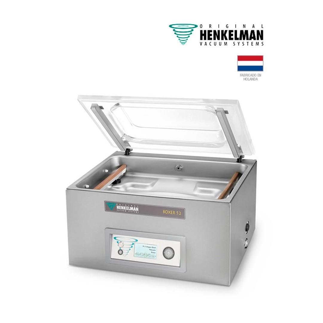 Envasadora al Vacío Henkelman Boxer 52 (2x410 - De mesa - Con inyección de gas)