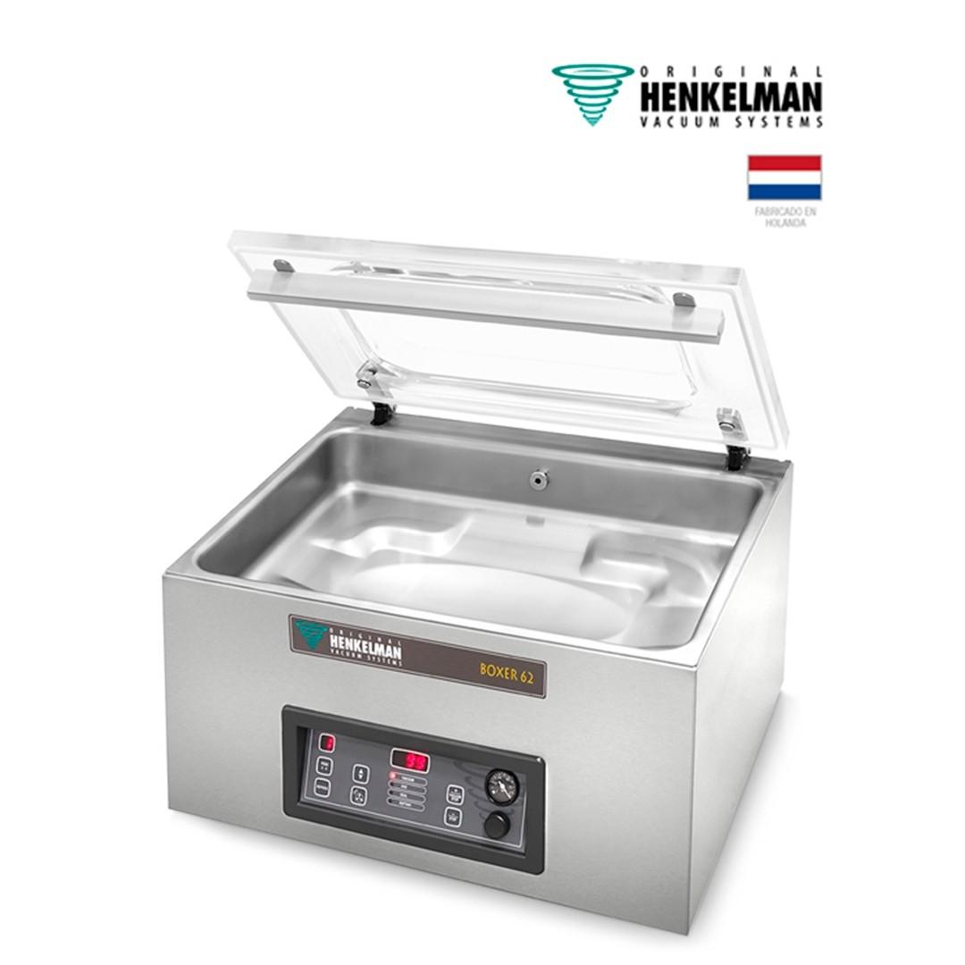 Envasadora al Vacío Henkelman Boxer 62 (2x620 - De mesa - Con inyección de gas)