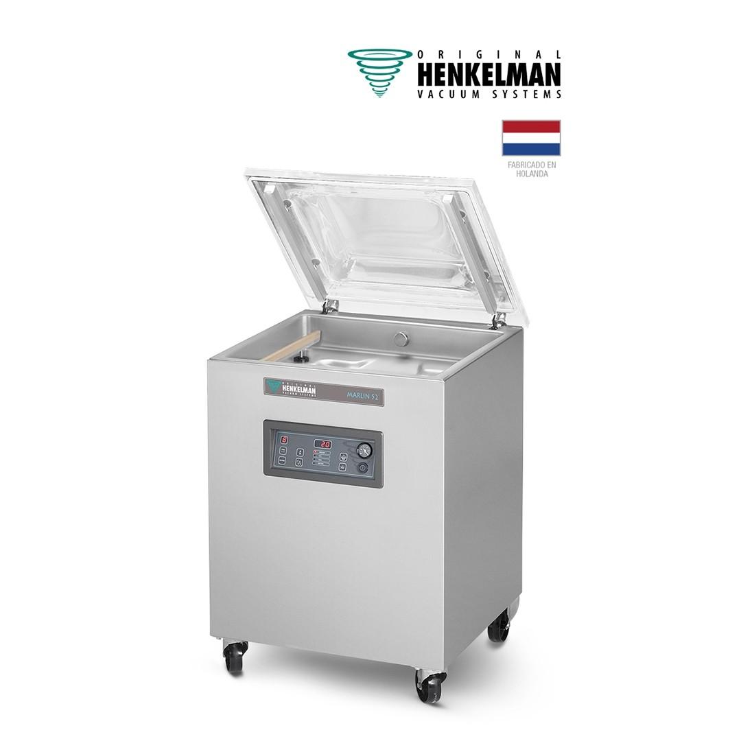 Envasadora al Vacío Henkelman Marlin 52 (2x520 - De pie - Con inyección de gas)