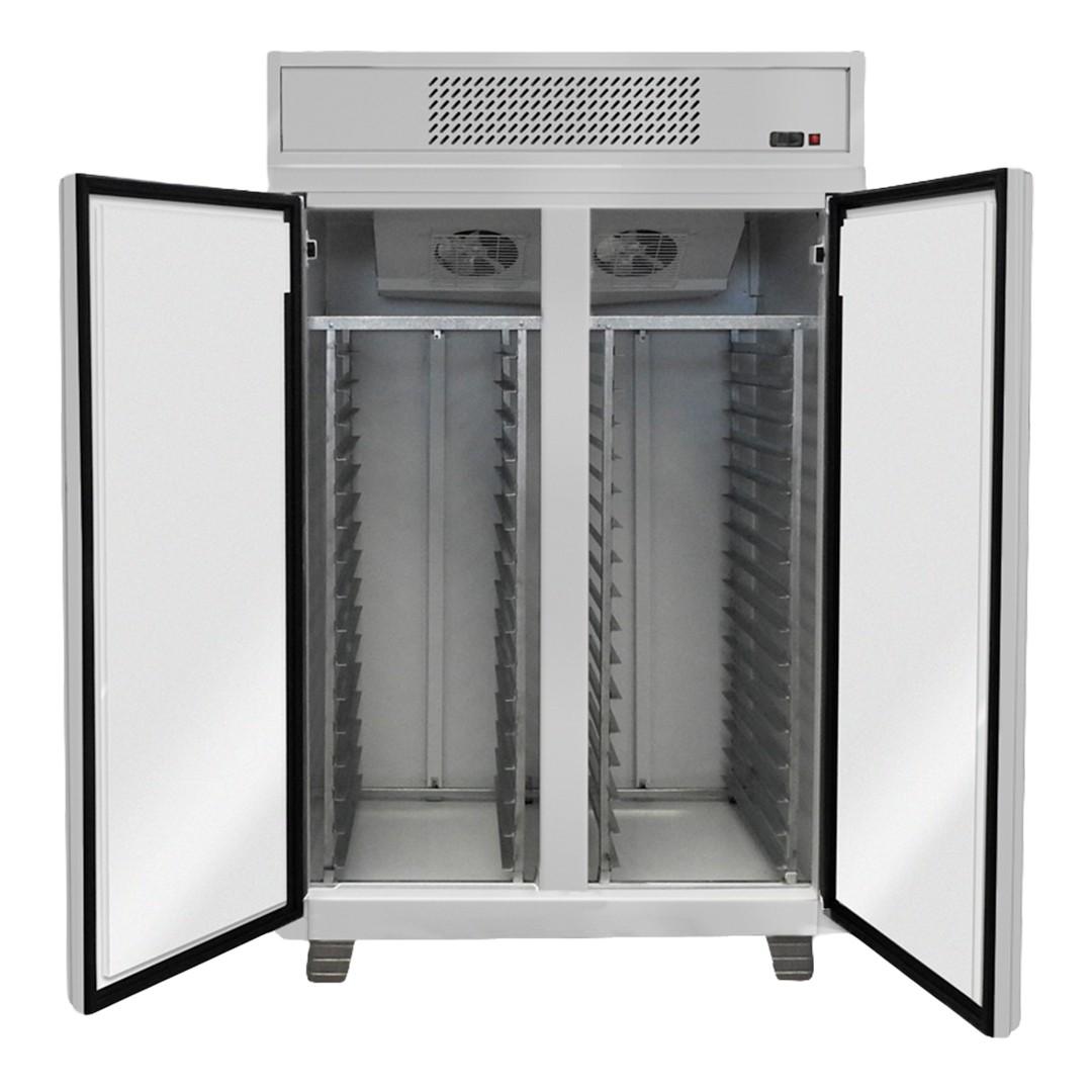 Freezer Vertical Latero Brunetti FVL2PCI con caballete para bandejas 45X70