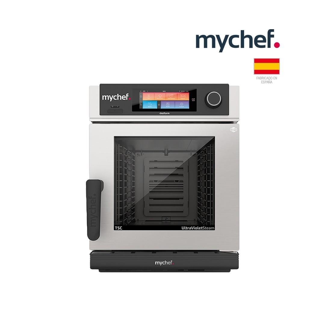 Horno Mixto MyChef Compact Evolution 6 GN 1/1 con TSC