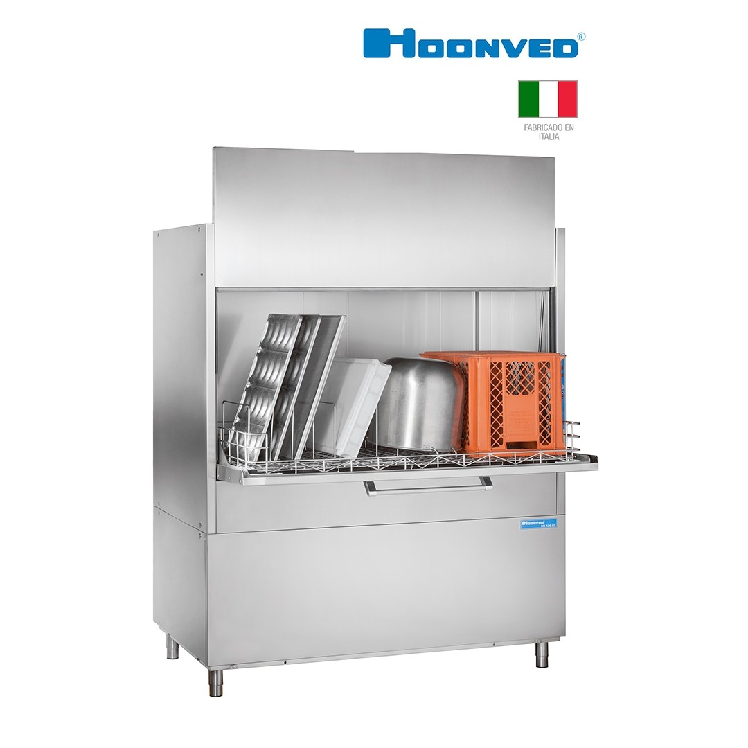 Lavadora de Bandejas y Objetos Hoonved HD130BTPD