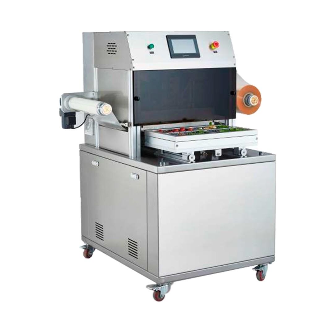 Selladora de Bandejas Automática con Vacío Brunetti EBA370V