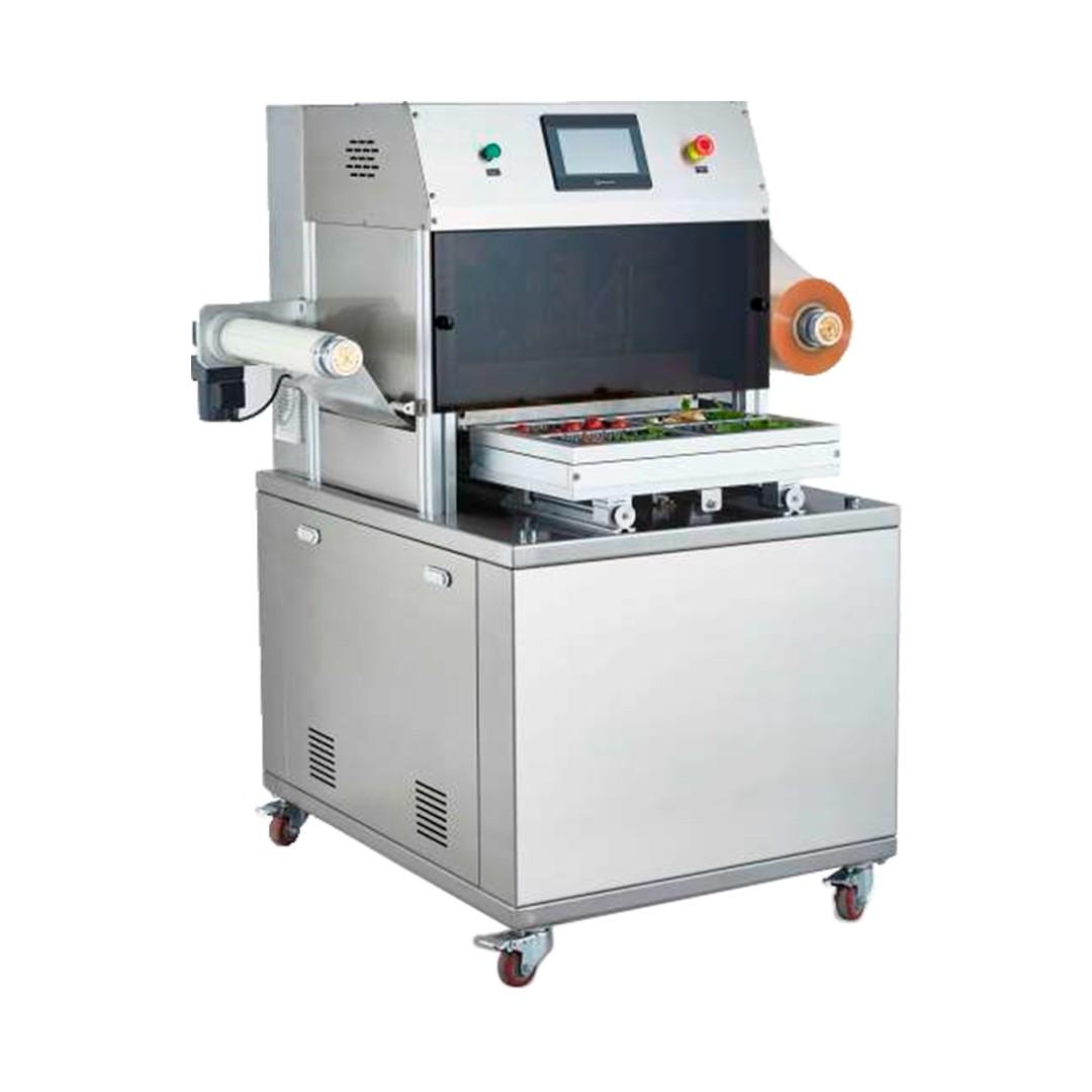 Selladora de Bandejas Automática con Vacío Brunetti EBA390V